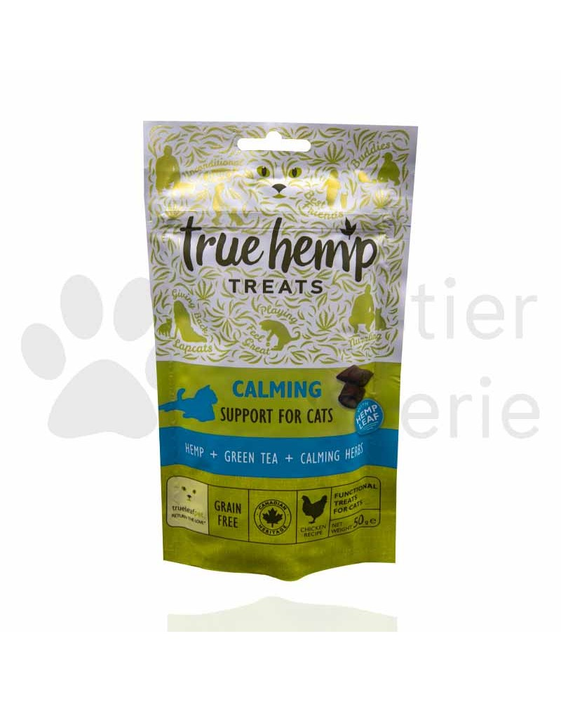 True Hemp Calming treats für Katzen